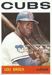 Cubs knew Lou Brock was on verge of stardom in 1964 | RetroSimba